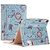 ProCase iPad Air (3rd Gen) 10.5' Case 2019, Vintage Stand Folio Case Cover for Apple iPad Air (3rd Gen) 10.5' 2019 and iPad Pro 10.5 2017, Multiple Viewing Angles, with Apple Pencil Holder (Native)