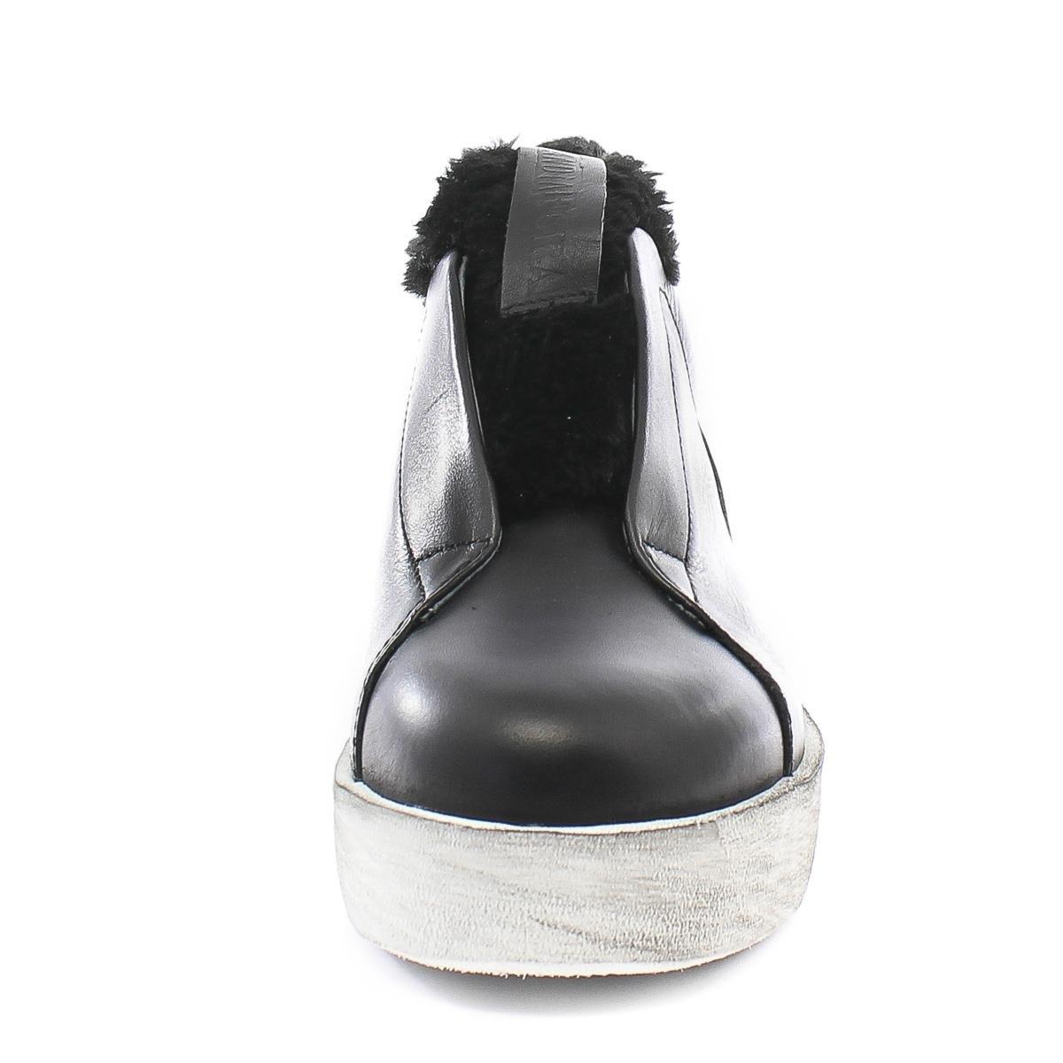 Andia Fora Turnschuhe Libi Pelliccia Roxy Bianco Aviator schwarz schwarz schwarz a67511