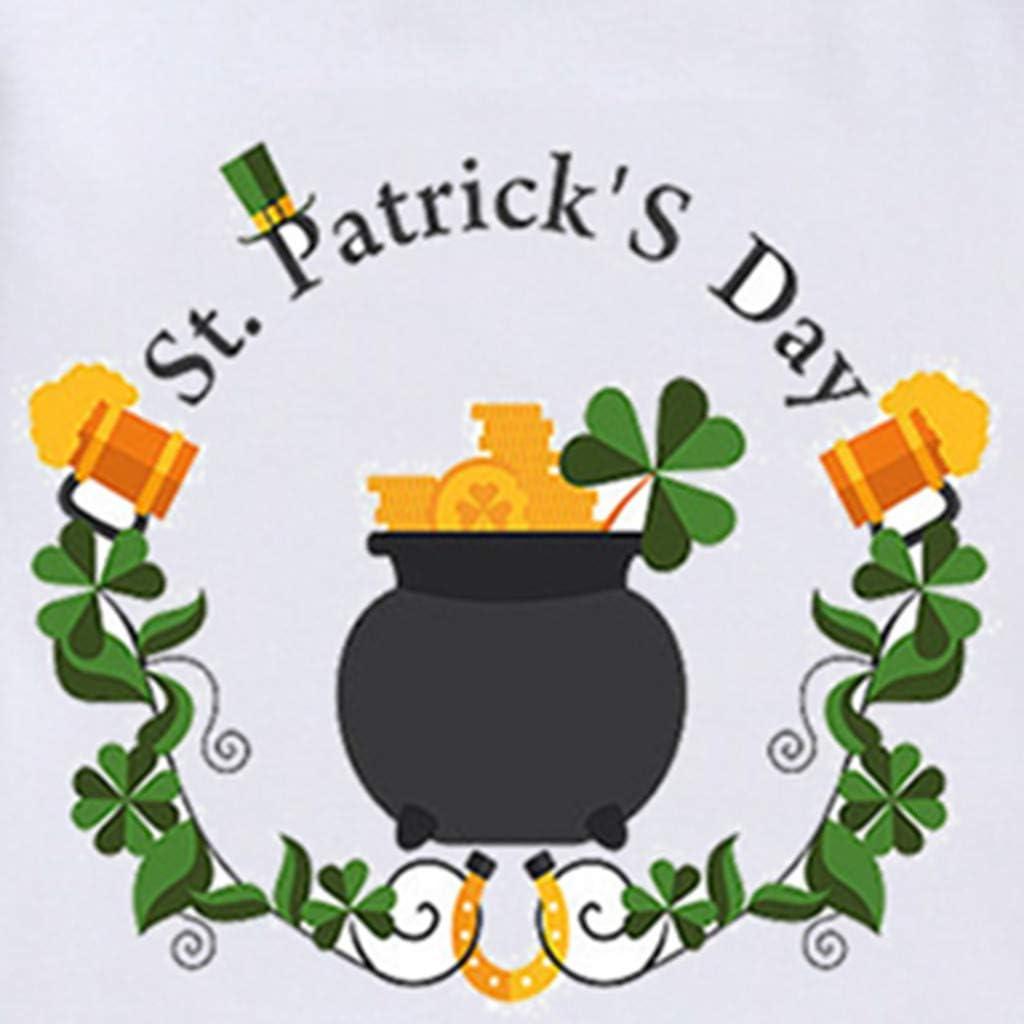 JUTOO Camiseta para el D/ía de Irlanda del D/ía Nacional de Irlanda Tops Blusa 90,100,110,120,130