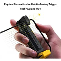 BKYMC Flydigi Stinger CapAir Mapping Gaming Trigger Physical Connection for Android and iPhone No App for FPS Games…