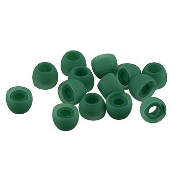 Juego de 14 piezas Grande Xcessor Silicona Almohadillas de Repuesto 7 Pares Azul