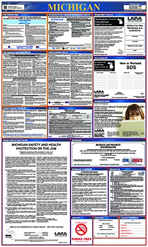 - National Marker Corp. LLP-MI LLP-Mo Labor Law Poster, Missouri, State and Federal, 40 Inch X 24 Inch
