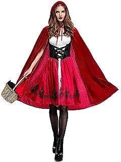 Amazon.com: Disfraz de Caperucita Roja para mujer con ...
