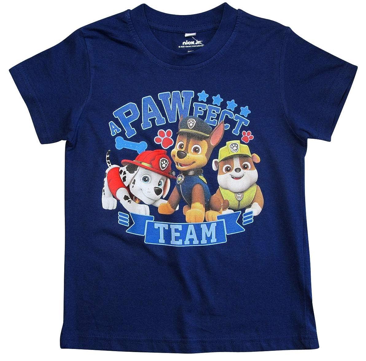 Helfer auf Vier Pfoten T-Shirt Jungen Kurz Paw Patrol