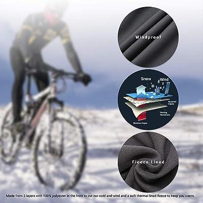 Men/'s Waterproof Cycling Pants Mountain Bike Riding Running Sports Windproof UK