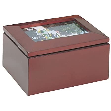 Treasure Box With Large Photo Frame Lid Amazoncouk Kitchen Home