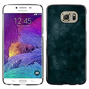 iKiki Tech / Estuche rígido - Texture Blue Camoo - Samsung Galaxy S6 SM-G920