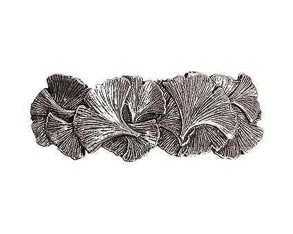 ordre Prix 50% la clientèle d'abord Oberon design - Fermacapelli Ginkgo, in metallo, realizzato a mano