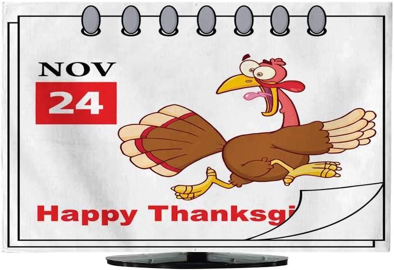 Tela para TV con Cubierta de Polvo de Dibujos Animados de Madera de Pavo para bebé Sign230/32: Amazon.es: Electrónica