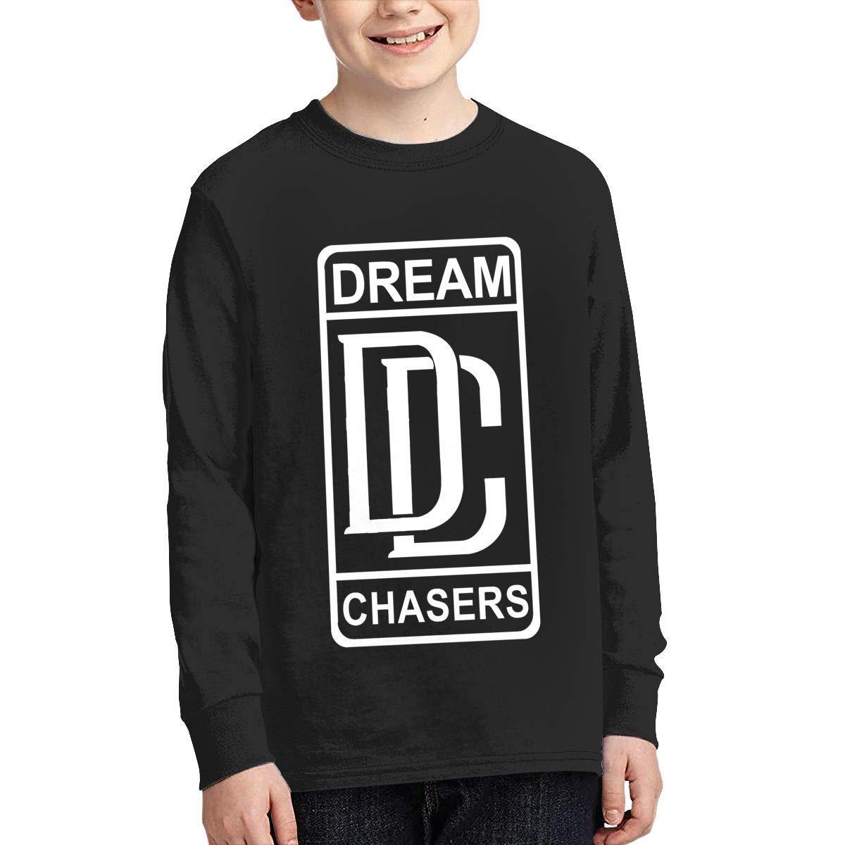 Kilsd Boys /& Girls Junior Classic Meek Mill Long Sleeve T-Shirt Black