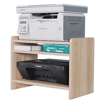 Qifengshop Estante de la Impresora Rack de Copia de Tres Capas ...