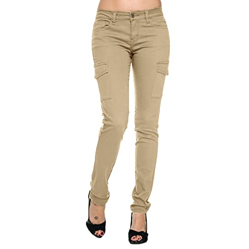 women pants Skinny cargo