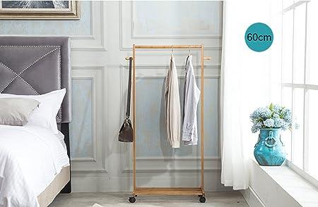 Perchero Suelo Escalera Racks, Dormitorio Percha Salón Simple Moderno Bamboo Racks Percha,Gancho de Ropa (Tamaño : 60cm): Amazon.es: Hogar