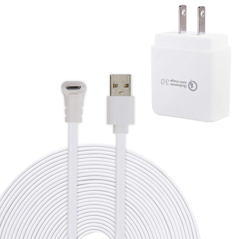Amazon com : EEEKit 20ft/6M Charging Power Cable + Power