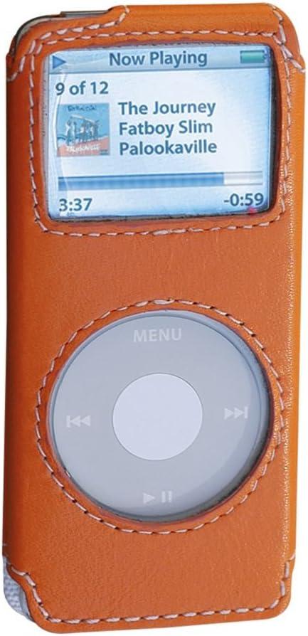 Covertec Luxury Pouch Case for iPod Nano - Nappa Leather (Orange)