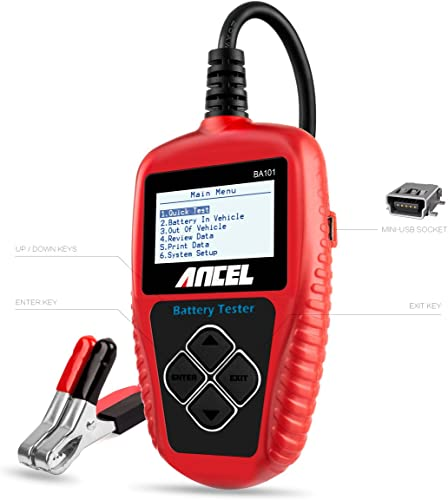 Ancel BA101 is the good choice if you are finding the best car battery tester