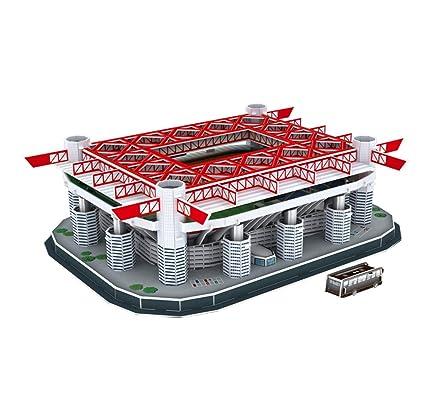 Amazon com: Sports Stadium 3D Model, AC Milan San Siro