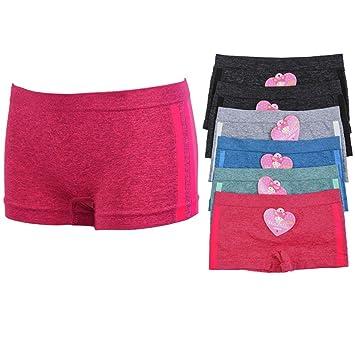 Teens in boy shorts undies