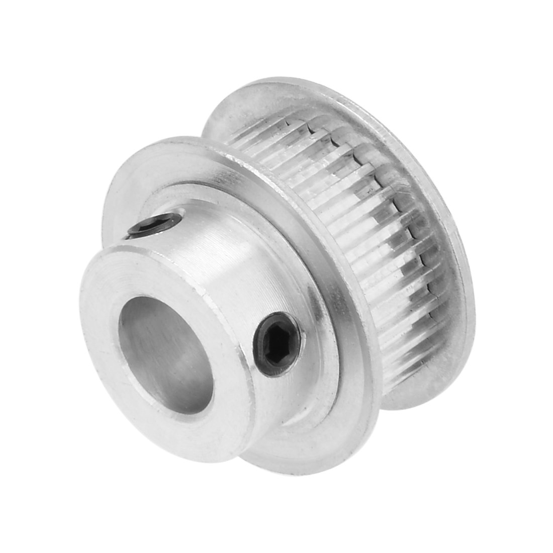 uxcell Aluminum MXL 30 Teeth 8mm Bore Timing Belt Pulley Synchronous Wheel for 6mm Belt 3D Printer CNC