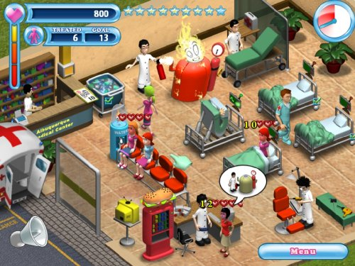 Amazon. Com: hysteria hospital: emergency ward (pc) (uk): video games.