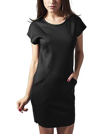 Urban Classics Damen Kleid Ladies Scuba Dress  Amazon.de  Bekleidung fd758626e9