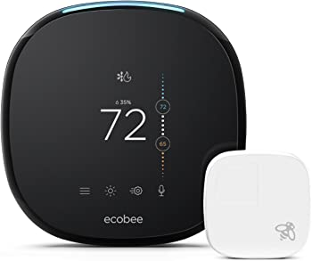 ecobee4 Alexa & HomeKit-Enabled Smart Thermostat