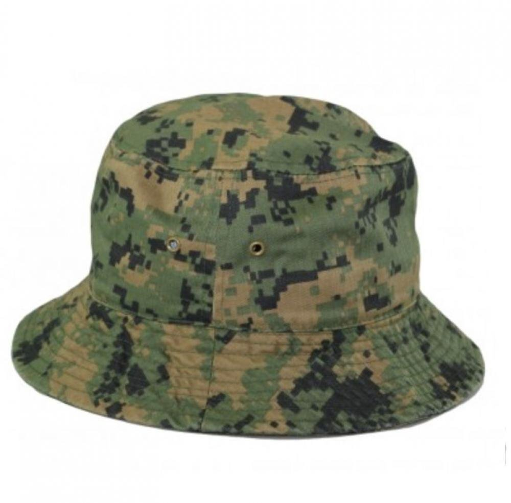 Easy-W Dl Camo 100% Cotton Hat Cap Bucket Boonie Unisex-1Pc by Easy-W