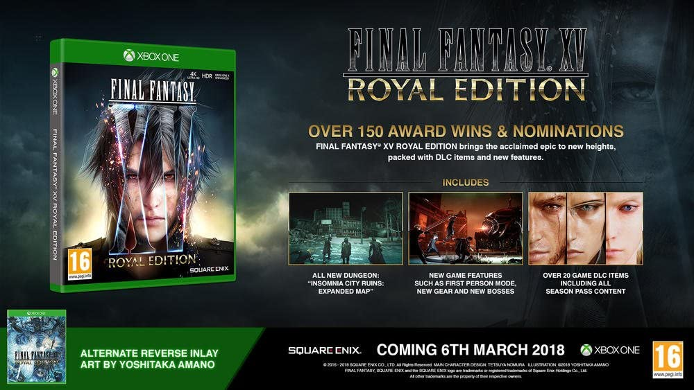 Final Fantasy XV - Edition Royale - Xbox One [Importación francesa]: Amazon.es: Videojuegos