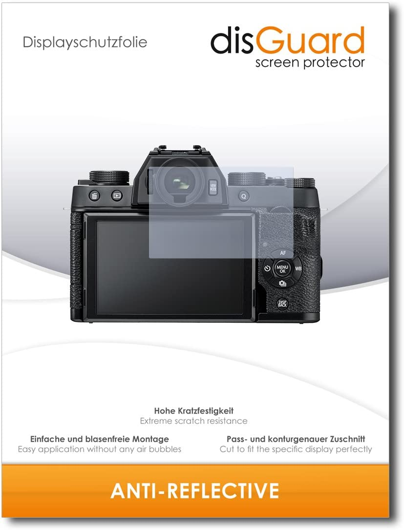 Film Protecteur Antireflets Extr/êmement r/ésistant Anti-Empreinte Digitale Compatible avec Fujifilm X-T100 Anti-reflet 3 Pi/èces disGuard Protecteur d/écran Anti-Reflex Mat