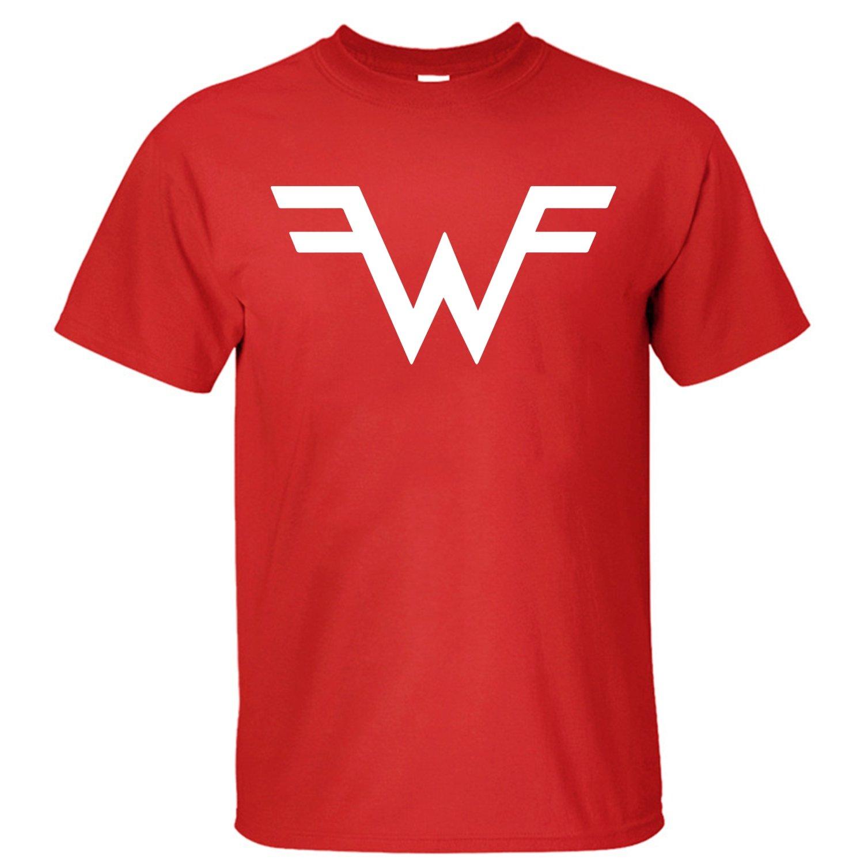 Pinko Men's Weezer Logo T-shirt red XL