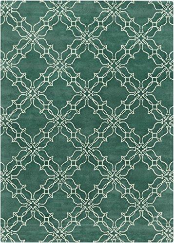 Surya by Aimee Wilder AIW-4008 Hand Tufted Geometric Area Rug, 9-Feet by 13-Feet
