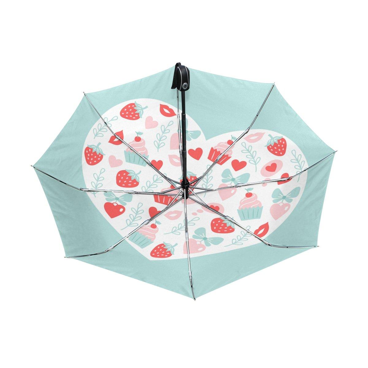 7c4feb811345 Amazon.com : baihuishop Heart Gift Butterfly Strawberry Windproof ...
