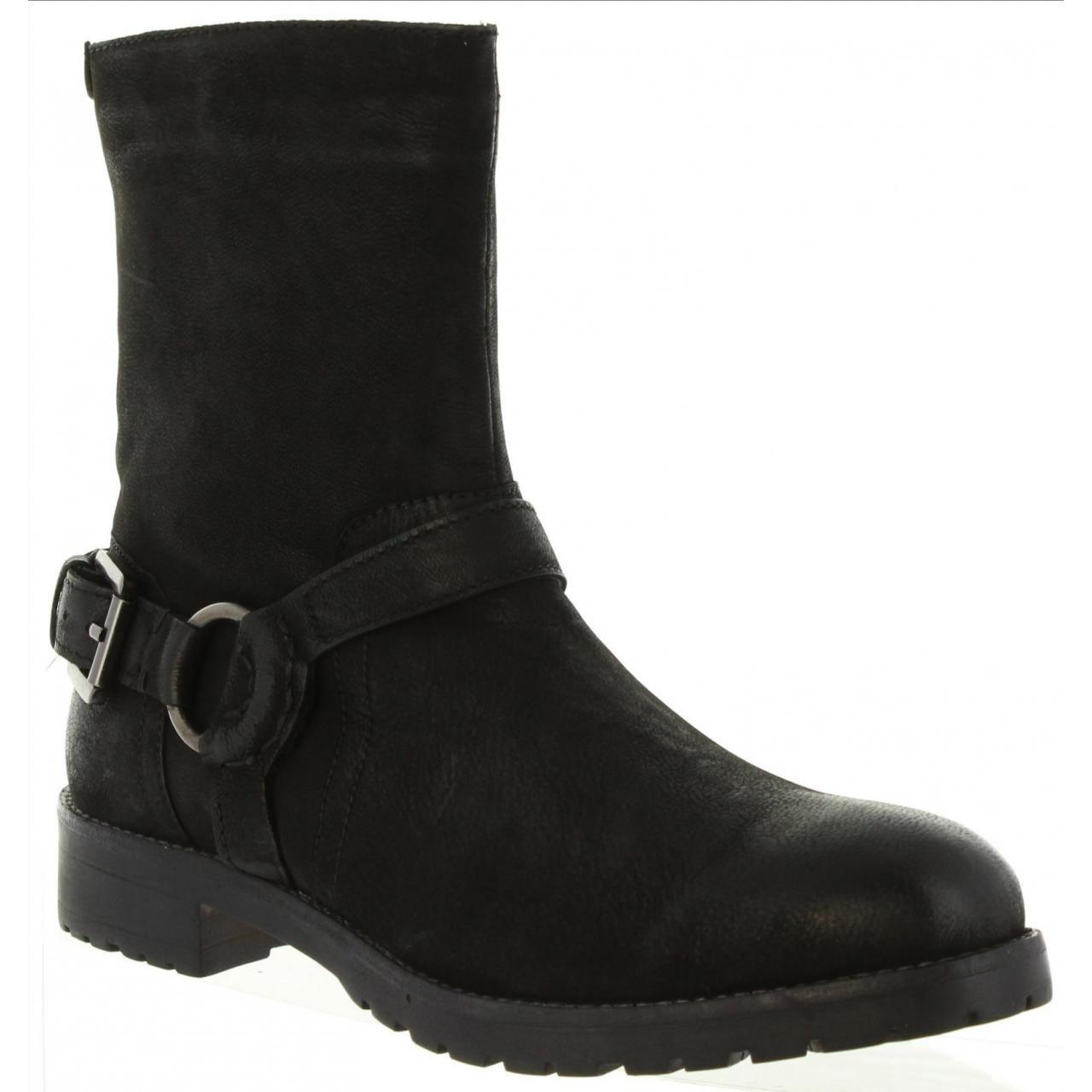 Kickers Women Boots 589110 50 Army 8 Noir: Amazon.co.uk