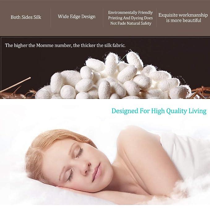 Amazon.com: DGYAXIN Fundas de almohada de seda para el ...