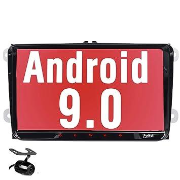 Unidad de navegación GPS estéreo para Coche Android 9.0 para VW ...