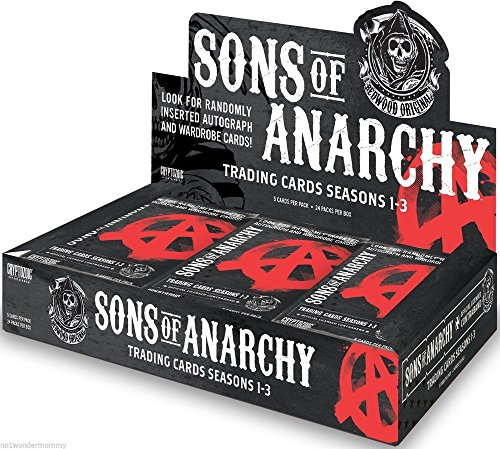 Sons Of Anarchy Seasons 1 3 Trading Cards Hobby Sealed Box