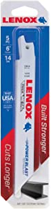 "Lenox 20564-614R 5 Pack 6"" 14 TPI Metal Reciprocating Blades"