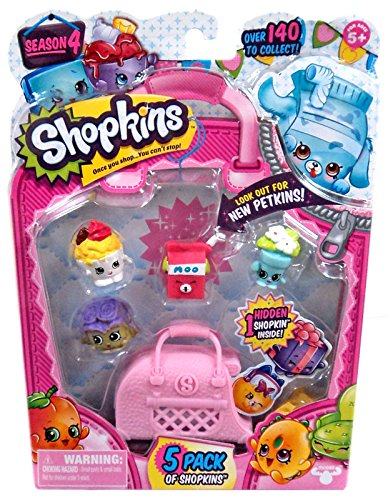 Shopkins Season 4 Toy Figure (5 Pack)