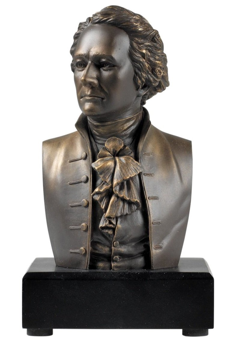 Amazon Exclusive - Alexander Hamilton Bust - Founding Father by francescaskitchen