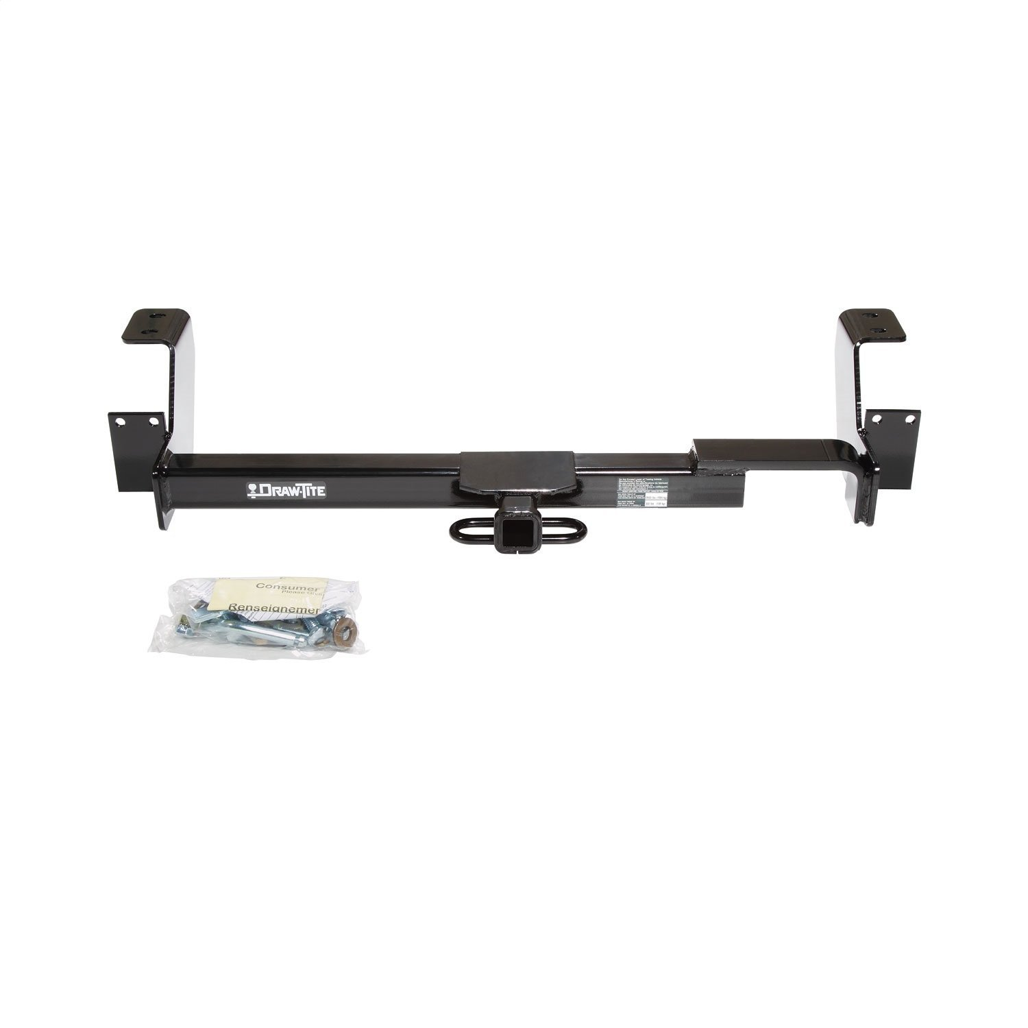 Draw-Tite 36425 Class II Frame Hitch with 1-1//4 Square Receiver Tube Opening