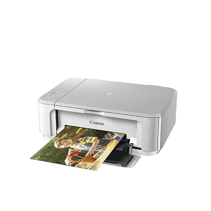 Impresora Multifuncional Canon PIXMA MG3650 Blanca Wifi de inyección de tinta