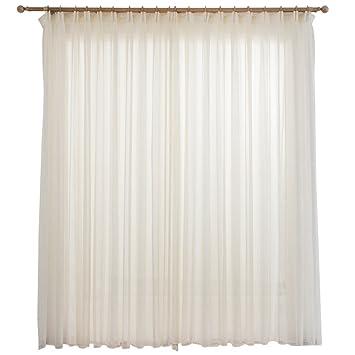 Amazonde Bber Weißer Vorhang Fertig Balkon Dekoration Einfarbig