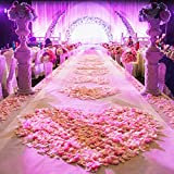 NEO LOONS 1000 Pcs Artificial Silk Rose Petals