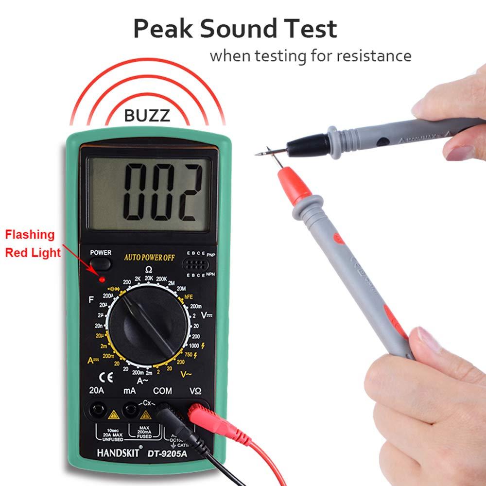 Multimeter AC AC AC DC Digital Multimeter Professional Tester Meter