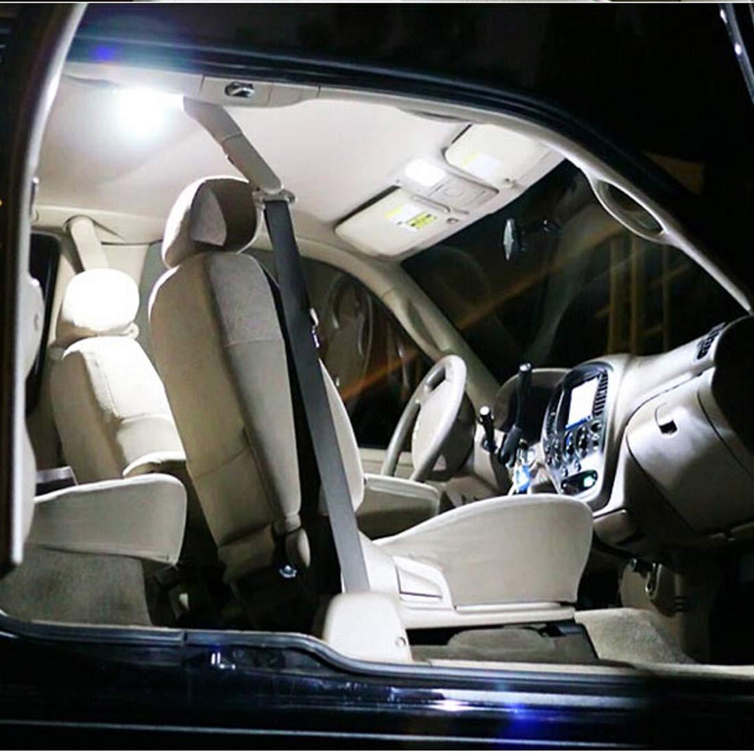 sourcingmap 2X White 31MM Festoon Interior LED Light 3528 6SMD