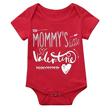 4bbb1ca6c9d27 Baby Kids T-Shirt,Toddler Baby Boys Girls Valentine's Day Clothes ...