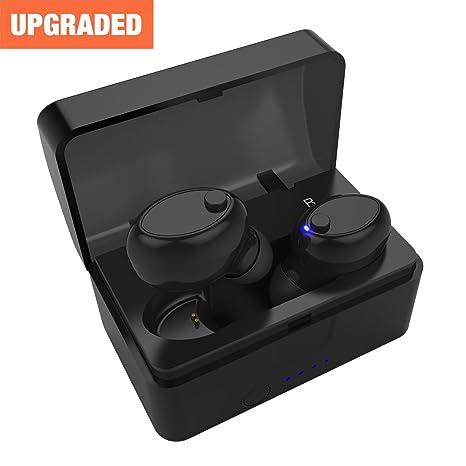 Auriculares Bluetooth Inalámbricos Mini Twins Reducción de Ruido Stereo Auriculares Inalambricos con Caja de Carga y