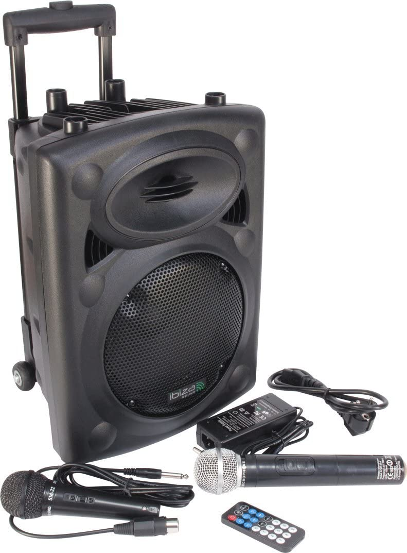 Ibiza Sound PORT8VHF-BT Sistema de sonido portátil y autónomo de 8