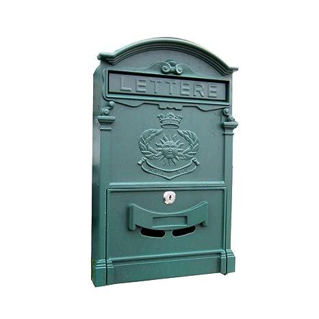 Buzones buzón Caja de carta de la villa de correo ...