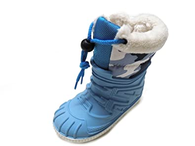 DIAMANTINO Snow Boot Male Blue: Amazon.co.uk: Shoes & Bags